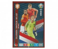 Panini Adrenalyn XL UEFA EURO 2020 Multiple The Wall 438 Cillessen Van Dijk De Ligt Netherlands