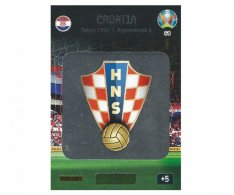 Panini Adrenalyn XL UEFA EURO 2020 Team Logo 64 Croatia