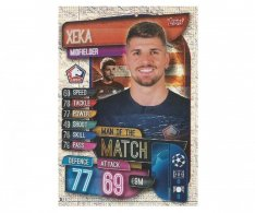 Fotbalová kartička 2019-2020 Topps Match Attax Champions League Man of the Match  Xeka LOCS LILLE
