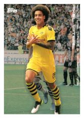 2020 Topps Borussia Dormund Signature Moves & Celebrations 30 Axel Witsel