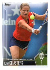 2019 Topps Tennis Hall of Fame 4 Kim Clijsters