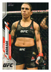 2020 Topps UFC 2 Jessica Andrade - Strawweight