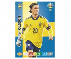 Panini Adrenalyn XL UEFA EURO 2020 Team mate 328 Kristoffer Olsson Sweden