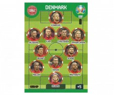 Panini Adrenalyn XL UEFA EURO 2020 Line Up 117 Denmark