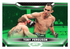 2020 Topps UFC Knockout 28 Tony Ferguson - Lightweight /88