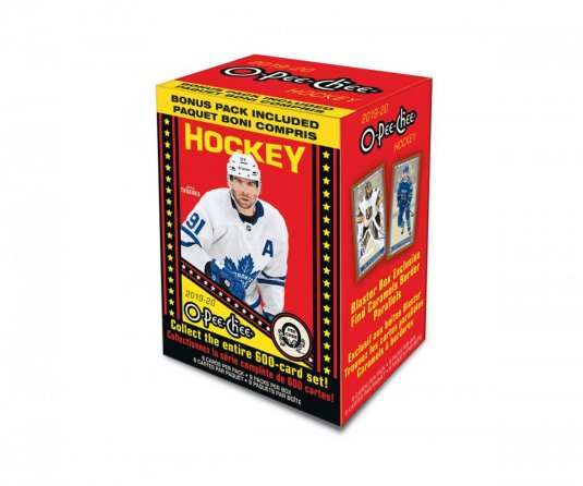 2019-20 Upper Deck O-Pee-Chee Blaster Box