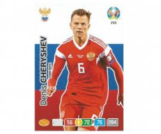 Panini Adrenalyn XL UEFA EURO 2020 Team mate 293 Denis Cheryshev Russia