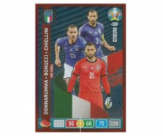 Panini Adrenalyn XL UEFA EURO 2020 Multiple The Wall 437 Donnarumma Bonucci Chiellini Italy
