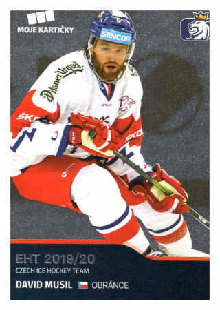 2019-20 Czech Ice Hockey Team  23 Divid Musil
