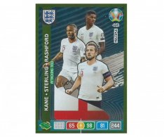 Panini Adrenalyn XL UEFA EURO 2020 Multiple Attacking Trio 446 Kane Sterling Rashford England