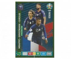 Panini Adrenalyn XL UEFA EURO 2020 Multiple Attacking Trio 447 Mbappe Griezmann Giroud France