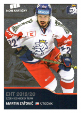 2019-20 Czech Ice Hockey Team  42 Martin Zaťovič