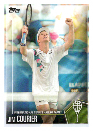 2019 Topps Tennis Hall of Fame 17 Jim Courier