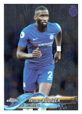 2018-19 Topps Chrome Premier League 63 Antonio Rudiger Chelsea FC