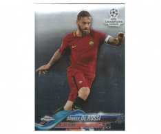 Fotbalová kartička Topps Chrome 2017-18 Champions League 63 Daniele De Rossi – AS Roma