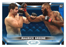 2020 Topps UFC Knockout 11 Maurice Greene - Heavyweight /75
