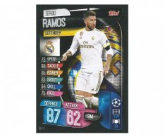 Fotbalová kartička 2019-2020  Topps Champions League Match Attax - Real Madrid CF -  Sergio Ramos 3