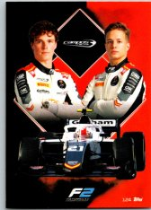2021 Topps Formule 1 Turbo Attax 124 Team Card Campos Racing