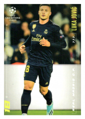 2020 Topps LM Youth On The Rise Luka Jovic Real Madrid CF