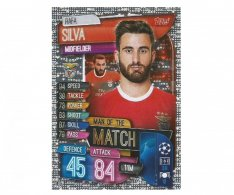 Fotbalová kartička 2019-2020 Topps Match Attax Champions League Man of the Match  Rafa Silva
