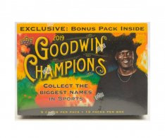 2019 Upper Deck Goodwin Champions Mega Box