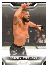 2020 Topps UFC Knockout 38 Jeremy Stephens - Featherweight
