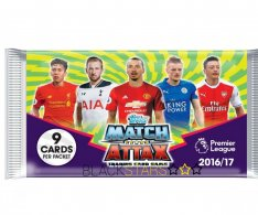 Balíček Topps Match Attax Premier League 2016/2017 (9 karet)