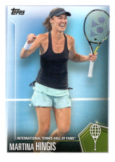 2019 Topps Tennis Hall of Fame 8 Martina Hingis