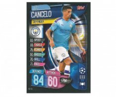 Fotbalová kartička 2019-2020  Topps Champions League Match Attax - Manchester City - Joao Cancelo 13