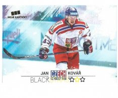 Hokejová kartička Czech Ice Hockey Team 20. Jan Kovář