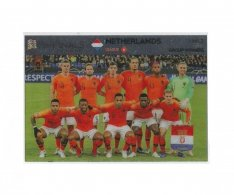 Fotbalová kartička Panini Road To Euro 2020 – Group Winners - Netherlands- UNL1