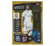 Fotbalová kartička 2019-2020 Topps Match Attax Champions League Club Legend Madrid CF Marcelo  CL3 Real Madrid CF