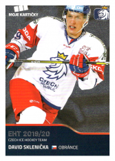 2019-20 Czech Ice Hockey Team  34 David Sklenička