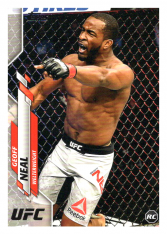 2020 Topps UFC 90 Geoff Neal - Welterweight RC