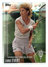 2019 Topps Tennis Hall of Fame 25 Chris Evert