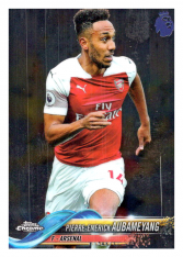 2018-19 Topps Chrome Premier League 51 Pierre Emerick Aubameyang Arsenal