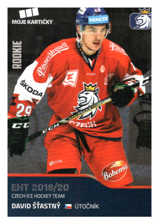 2019-20 Czech Ice Hockey Team  38 David Šťastný
