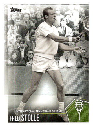 2019 Topps Tennis Hall of Fame 38 Fred Stolle