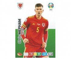 Panini Adrenalyn XL UEFA EURO 2020 Team mate 372 Chris Mepham Wales