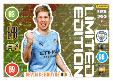 Panini Adrenalyn XL FIFA 365 2021 Limited Edition Kevin De Bruyne Manchester City
