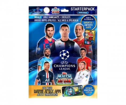2019-2020 Topps Match Attax Champions League karty - Starterpack