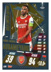 fotbalová kartička 2020-21 Topps Match Attax Champions League Extra Limited Edition LE2G Piere Emerick Aubameyang Arsenal
