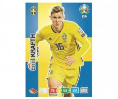 Panini Adrenalyn XL UEFA EURO 2020 Team mate 321 Emil Krafth Sweden