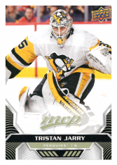 2020-21 UD MVP 179 Tristan Jarry - Pittsburgh Penguins