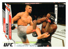 2020 Topps UFC 76 Johnny Walker - Light Heavyweight Future Stars