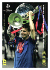 2020 Topps LM Greatest Goals Lionel Messi  2015 UEFA Champions League Winner