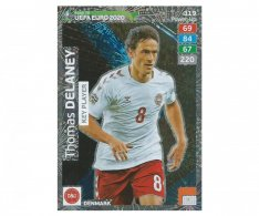 Fotbalová kartička Panini Adrenalyn XL Road to EURO 2020 - Key Player - Thomas Delaney - 319