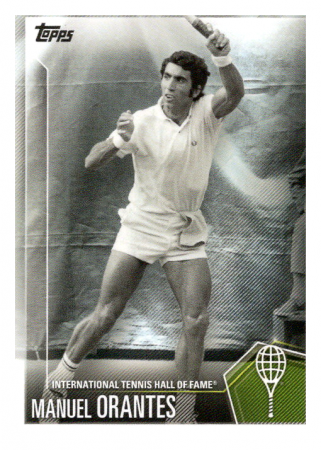 2019 Topps Tennis Hall of Fame 40 Manuel Orantes